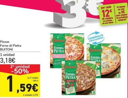 Oferta de Pizzas Forno di Pietra BUITONI por 3,18€