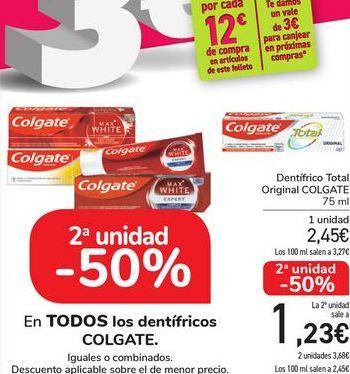 Oferta de En TODOS los dentífricos COLGATE por