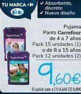 Oferta de Pyjama Pants Carrefour  por 9,6€