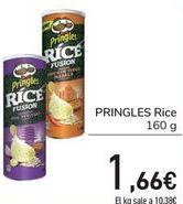 Oferta de PRINGLES Rice por 1,66€