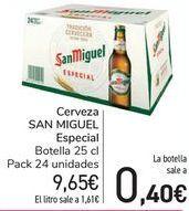 Oferta de Cerveza SAN MIGUEL Especial  por 9,65€