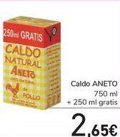 Oferta de Caldo ANETO por 2,65€