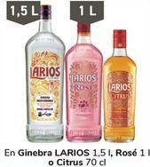 Oferta de En Ginebra LARIOS, Rosé o Citrus  por
