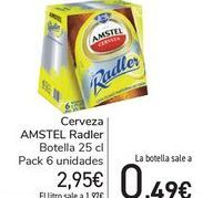 Oferta de Cerveza AMSTEL Radler  por 2,95€