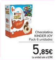 Oferta de Chocolatina KINDER JOY  por 5,85€