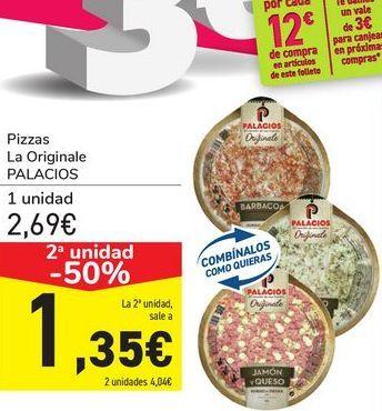 Oferta de Pizzas La Originale PALACIOS por 2,69€