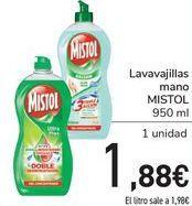 Oferta de Lavavajillas mano MISTOL  por 1,88€
