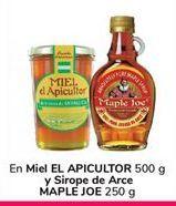 Oferta de En Miel EL APICULTOR y Sirope de Arce MAPLE JOE por