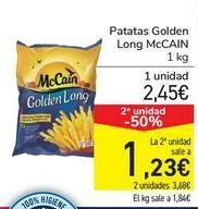 Oferta de Patatas Golden Long McCAIN por 2,45€
