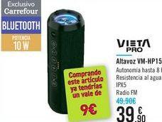 Oferta de Altavoz VM-HP15 VIETA PRO por 39,9€