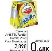 Oferta de Cerveza AMSTEL Radler  por 2,89€