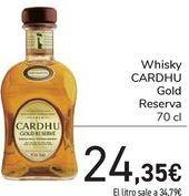 Oferta de Whisky CARDHU Gold Reserva  por 24,35€