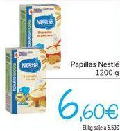 Oferta de Papillas Nestlé  por 6,6€