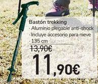 Oferta de Bastón trekking por 11,9€