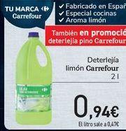 Oferta de Deterlejía limón Carrefour por 0,94€