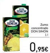 Oferta de Zumo concentrado DON SIMÓN  por 0,95€