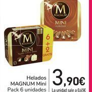 Oferta de Helados MAGNUM Mini por 3,9€