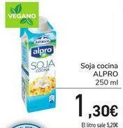 Oferta de Soja cocina ALPRO por 1,3€