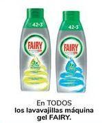 Oferta de En TODOS los lavavajillas máquina gel FAIRY  por