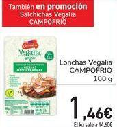 Oferta de Lonchas Vegalia CAMPOFRIO por 1,46€