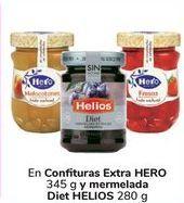 Oferta de En confituras extra HERO y mermelada Diet HELIOS  por