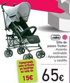 Oferta de Silla de paseo Trotter Asalvo  por 65€
