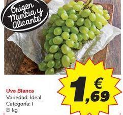 Oferta de Uva Blanca por 1,69€