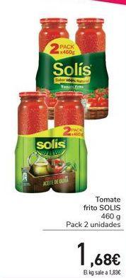 Oferta de Tomate frito SOLIS por 1,68€