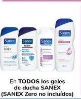 Oferta de En TODOS los geles de ducha Sanex por