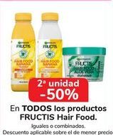 Oferta de En TODOS los productos Fructis Hair Food por