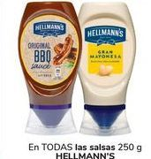 Oferta de En TODAS las salsas HELLMANN'S por