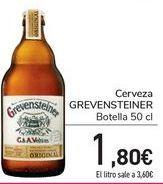 Oferta de Cerveza GRENVENSTEINER  por 1,8€