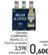 Oferta de Cerveza Coronita por 3,59€