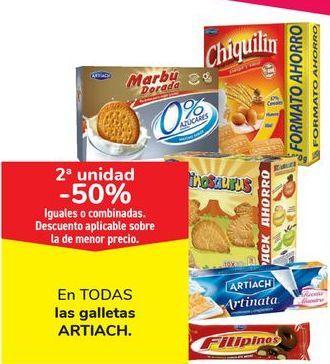 Oferta de En TODAS las galletas Artiach por