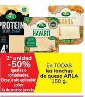 Oferta de En TODAS las lonchas de queso ARLA por