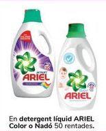 Oferta de En detergente líquido ARIEL Color o Bebé por