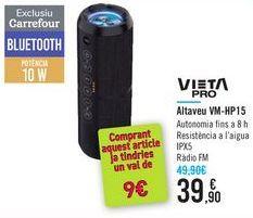 Oferta de Altavoz VM-HP15 por 39,9€