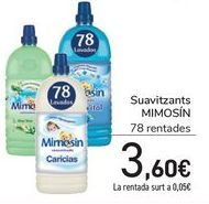 Oferta de Suavizante Mimosín  por 3,6€