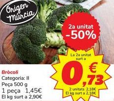 Oferta de Brócoli por 1,45€