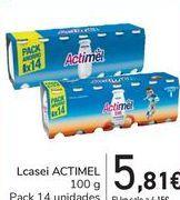 Oferta de Lcasei ACTIMEL por 5,81€