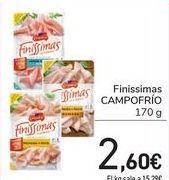 Oferta de Finissimas CAMPOFRÍO por 2,6€