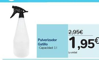 Oferta de Pulverizador Gatillo por 1,95€