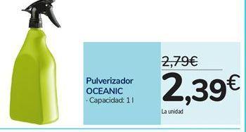 Oferta de Pulverizador OCEANIC por 2,39€