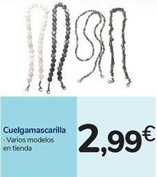 Oferta de Cuelgamascarilla por 2,99€