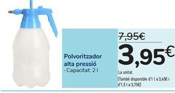 Oferta de Pulverizador alta presión por 3,95€