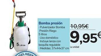 Oferta de Bomba presión por 9,95€