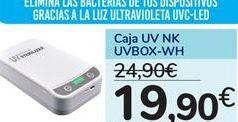 Oferta de Caja UV NK UVBOX-WH por 19,9€