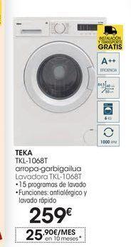 Oferta de Lavadoras Teka por 259€