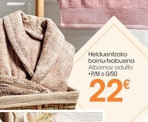 Oferta de Albornoz por 22€