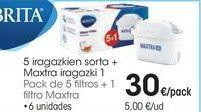 Oferta de Filtros para jarra Brita por 30€